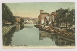 CHARLEROI : La Sambre Et Le Moulin - Péniches - Colorisée (f7441) - Charleroi