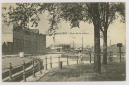 CHARLEROI : Quai De La Prison, 1912 - Péniches (f7470) - Charleroi