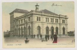 CHARLEROI : La Poste - Charrette - Colorisée (f7601) - Charleroi