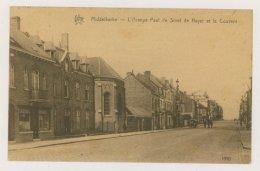 MIDDELKERKE : L'Avenue Paul De Smet De Nayer Et Le Couvent (f7742) - Middelkerke
