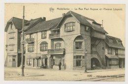 MIDDELKERKE : La Rue Paul Houyoux Et L'Avenue Léopold, 1913 (f7743) - Middelkerke