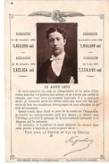 Carton De Remerciements Du 15 Aout 1873 Du Prince Louis Futur Napoleon IV Suites Aux Plebiscites De 1870 - Historische Documenten
