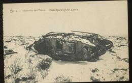 IEPER  Cimetière Des Chars   CP     Dégats De La Guerre 1918 - Diksmuide