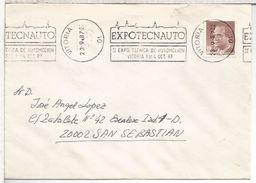 VITORIA ALAVA CC RODILLO EXPOTECNAUTO AUTOMOVIL CAR - 1981-90 Cartas