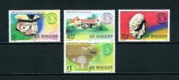 St. Vicente (Británico)  Nº Yvert  470/3  En Nuevo - St.Vincent (...-1979)
