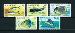 St. Vicente (Británico)  Nº Yvert  435A/E  En Nuevo - St.Vincent (...-1979)