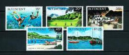 St. Vicente (Británico)  Nº Yvert  409/13  En Nuevo - St.Vincent (...-1979)