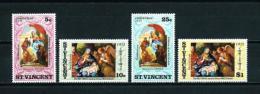 St. Vicente (Británico)  Nº Yvert  302/5  En Nuevo - St.Vincent (...-1979)