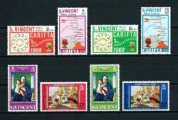 St. Vicente (Británico)  Nº Yvert  254/7-290/3  En Nuevo - St.Vincent (...-1979)