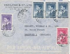 VIET-NAM / SAIGON - 1957 , Brief Nach Bradford - Vietnam