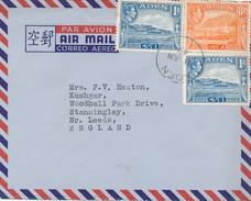ADEN - 1949 , Air Mail Nach England - Aden (1854-1963)