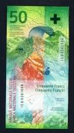 SWITZERLAND  -  2015  50 Francs  UNC (Studer And Zurbrugg) - Switzerland