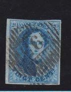 Belgique N°11 20C D95 DOTTIGNIES Bien Margé Ex DANDOIS TRES Rare - 1858-1862 Medaillen (9/12)