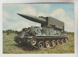 CPSM MILITAIRE MATERIELS - PLUTON : Missile Sur Chassis AMX 30 - Materiaal
