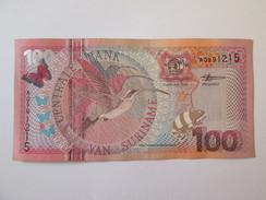 Suriname 100 Gulden 2000 Banknote - Surinam