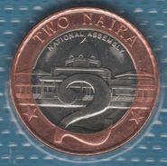 NIGERIA 2 NAIRA 2006 KM# 19 Bi-métallique NATIONAL ASSEMBLY - Nigeria