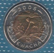 MALAWI 5 KWACHA 2006 KM# 57 Bi-métallique - Malawi