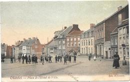 Châtelet NA23: Place De L'Hôtel De Ville 1907 - Châtelet