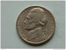 1982 P - Five Cents / KM A192 ( Uncleaned - For Grade, Please See Photo ) ! - Émissions Fédérales