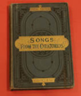Songs From The Oratorios, Foster, Myles B, Published By Boosey & Co, London - Old Books
