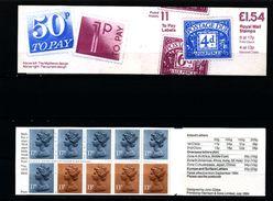 GREAT BRITAIN - 1984  £ 1.54  BOOKLET  POSTAGE DUES  RM  MINT NH  SG FQ 1b - Libretti