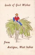 Antigua Loads Of Good Wishes 1963 - Antigua & Barbuda
