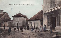 Byans - Grande Rue Et Maison Simplot - Autres Communes