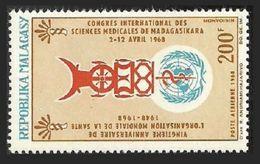 MALAGASY 1968 MEDICAL WHO MEDICAL SCIENCE CONGRESS SET MNH - Madagascar (1960-...)