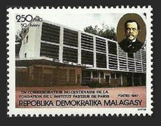 MALAGASY 1987 MEDICAL CENTENARY OF PASTUER INSTITUTE PARIS SET MNH - Madagascar (1960-...)