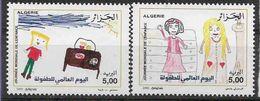 2002 ALGERIE 1311-12** Dessins D'enfants - Algérie (1962-...)