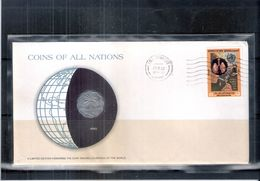 Special Cover With Coin From Iraq (to See) - Iraq