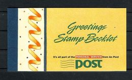 Ireland 1990 Greetings Stamps Booklet, (Mint NH), Nature - Flowers & Plants - Stamps - Stamp Booklets - Libretti