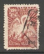 005834 Mozambique 1943 Charity $50 FU - Mozambique
