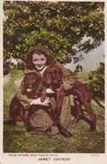 JANET GAYNOR WITH HER DOGS - Attori