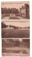 BELGIQUE . BELOEIL . LE CHÂTEAU . 3 CARTES POSTALES - Réf. N°4434 - - Beloeil