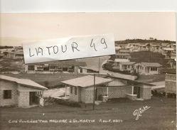 HAITI  ST MARTIN   CARTE PHOTO CITE  OUVRIERE  ( PAUL  MAGLOIRE) - Saint Martin
