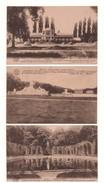 BELGIQUE . BELOEIL . LE CHÂTEAU . 3 CARTES POSTALES - Réf. N°4435 - - Beloeil