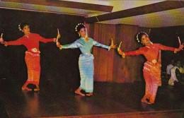 Thailand Candle Dance Thai Classical Dance 1972