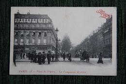 PARIS - Place De L'OPERA - La Compagnie MAGGI, CPA Publicitaire ( Au 2ème étage De L'immeuble). - Reclame