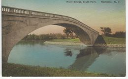 CPA ETATS UNIS ( Amerique ) - RIVER BRIDGE SOUTH PARK - ROCHESTER - NEW YORK - Rochester