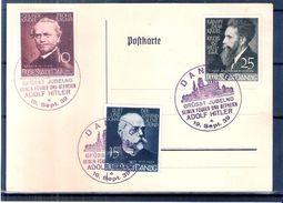 Postcard Danzig - Série Recherche Scientifique - Oblitération Spéciale Adolf H.....  (à Voir) - Dantzig