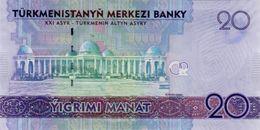 TURKMENISTAN P. 32 20 M 2012 UNC - Turkmenistán