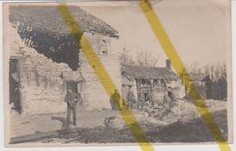 02 AISNE CRAONNE Canton GUIGNICOURT CARTE PHOTO ALLEMANDE MILITARIA 1914 1918 WW1 WK1 - Craonne