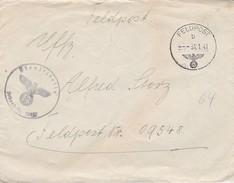 Feldpost Mit Inhalt - Feldpost 18852 - 3. KompanieWach-Bataillon 58 - 1941 (30792) - Covers & Documents