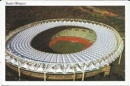"Stadion,Stadium,Stade,stade De Football,football Stadium. ,,OLIMPICO "" - Roma,Rome.Italy - Stadiums"