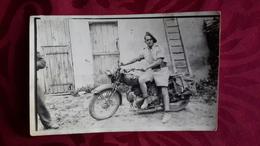 PHOTO - MILITAIRE - MOTO - Automobile