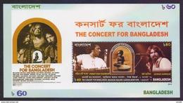 BANGLADESH 2015 - The Concert For Bangladesh, Madison Square Garden New York On 1st August 1971, MNH Miniature Sheet - Bangladesh