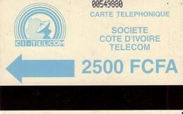 TARJETA TELEFONICA DE COSTA DE MARFIL. (429) - Ivoorkust