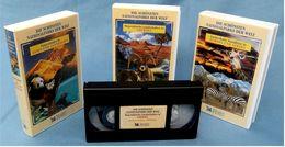 3 X VHS : Die Schönsten Nationalparks Der Welt. -  Europa Und Afrika, Asien Und Australien, Amerika - Documentary