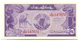 Sudan 25 Piastres Banknote - Soudan
